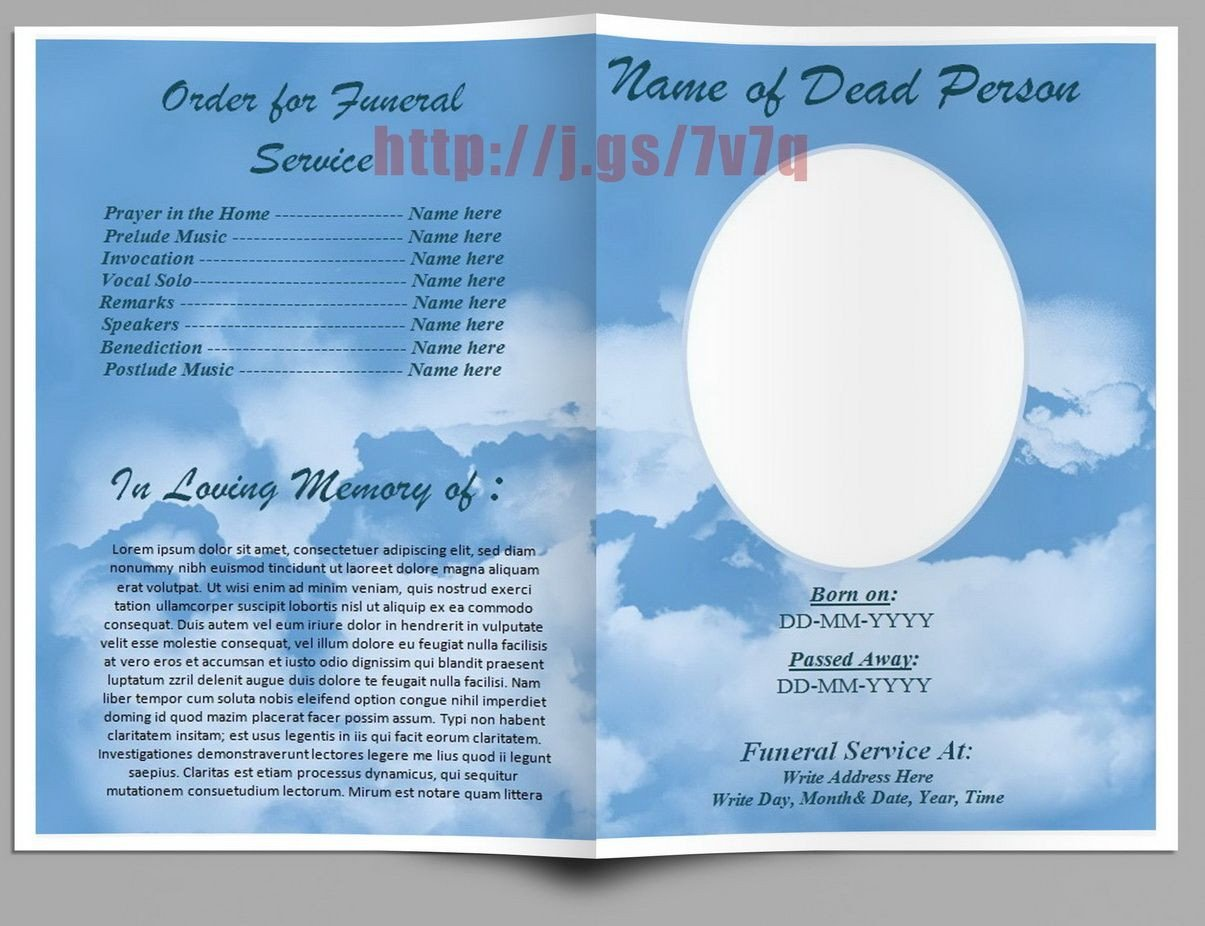Free Funeral Program Template Word Pin by Sam Bither On Funeral Program Templates for Ms Word