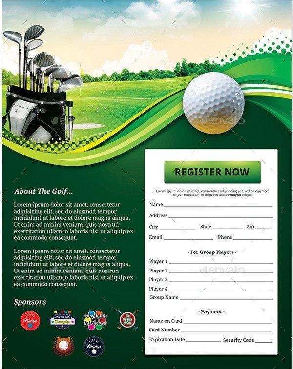 Free Golf Flyer Template 25 Golf Flyers Templates Word Psd Ai Eps Vector