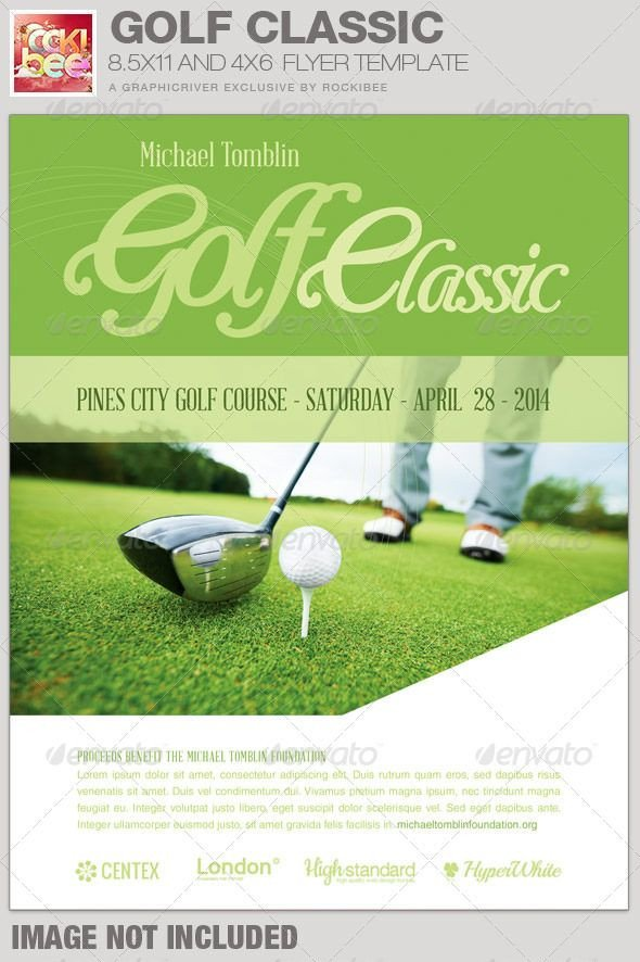 Free Golf Flyer Template 71 Best Images About Charity Flyer Templates On Pinterest