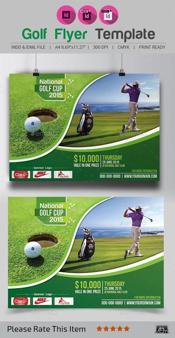Free Golf Flyer Template Golf Flyer Template by Aam360