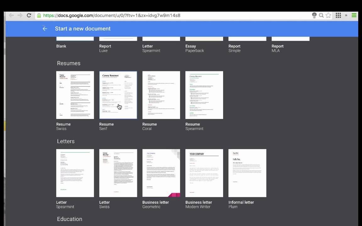 Free Google Doc Templates Google Docs Templates