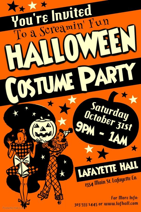 Free Halloween Flyer Templates 63 Best Halloween Party Flyer Templates Images On