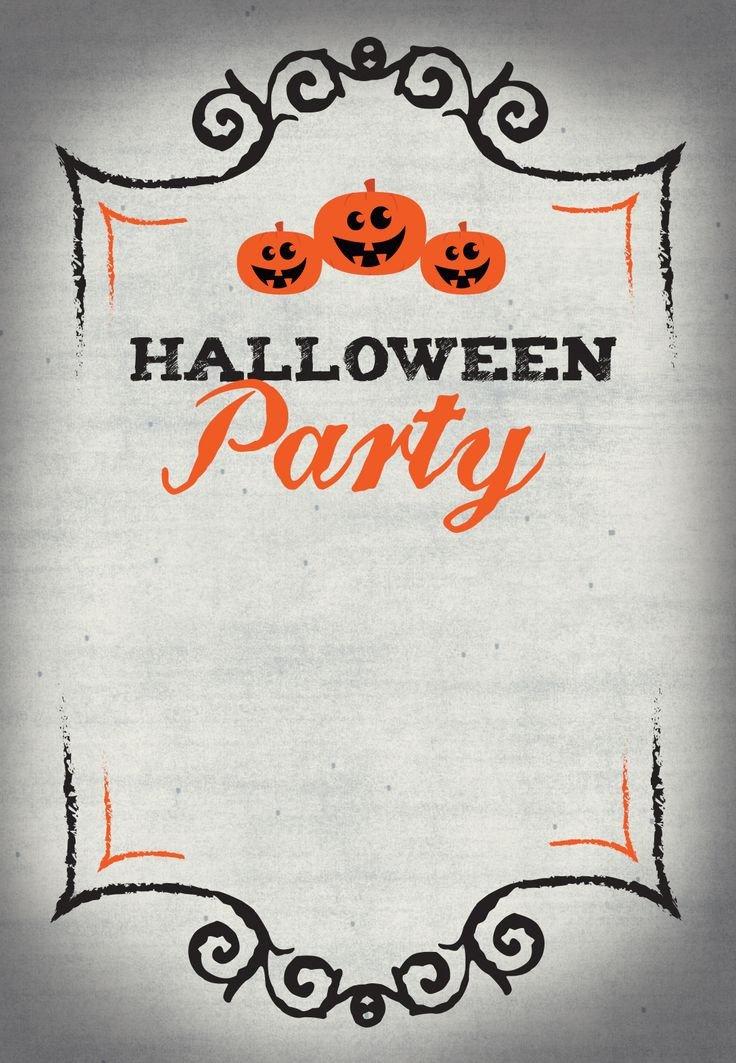 Free Halloween Invite Templates Best 25 Halloween Party Invitations Ideas On Pinterest