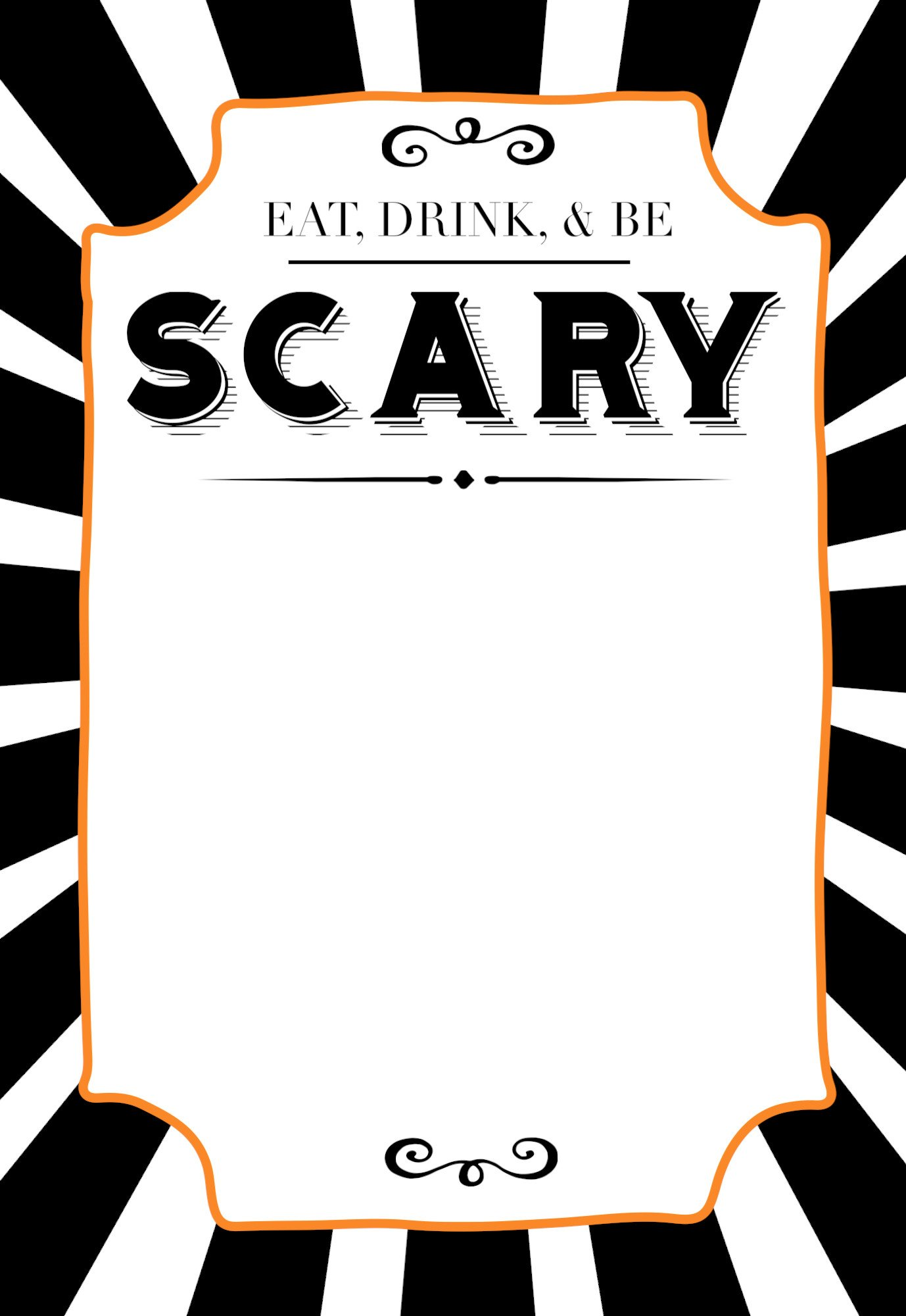 Free Halloween Invite Templates Halloween Invitations Free Printable Template Paper