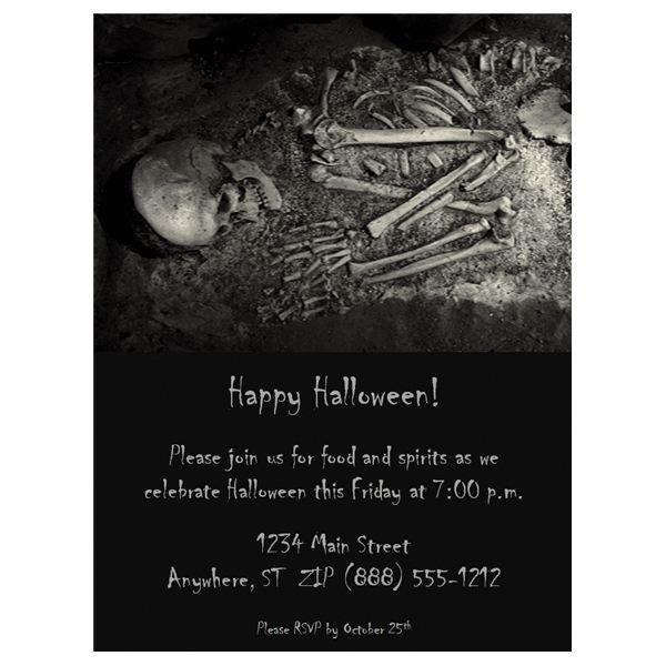 Free Halloween Invite Templates Halloween Wedding Invitations Free Templates & Fun Ideas