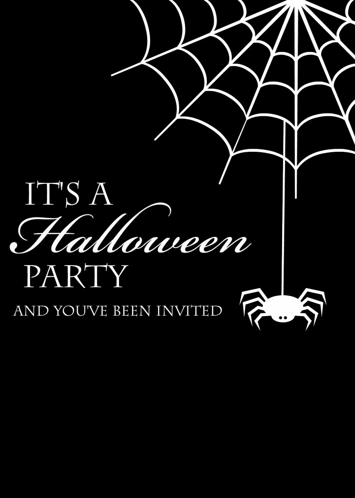 Free Printable Halloween Invitations Crazy Little Projects