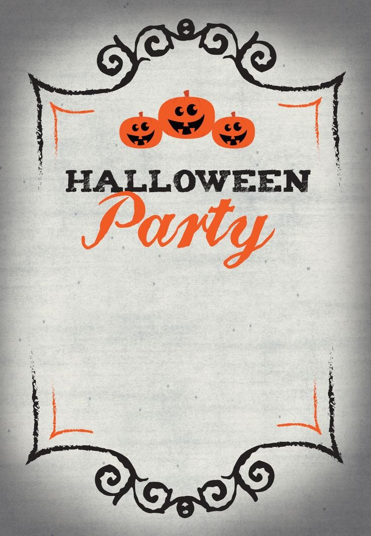 Free Halloween Party Invitation Templates Best 25 Halloween Party Invitations Ideas On Pinterest