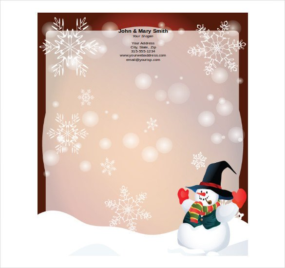 Free Holiday Stationery Templates 16 Holiday Stationery Templates Psd Vector Eps Png