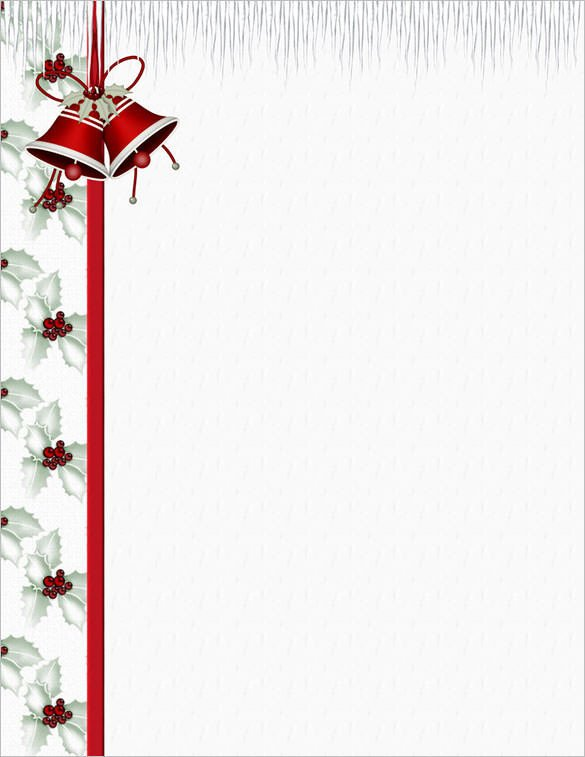 Free Holiday Stationery Templates 25 Christmas Stationery Templates Free Psd Eps Ai