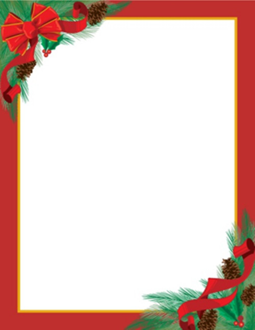 Free Holiday Stationery Templates Christmas Letterhead On Pinterest