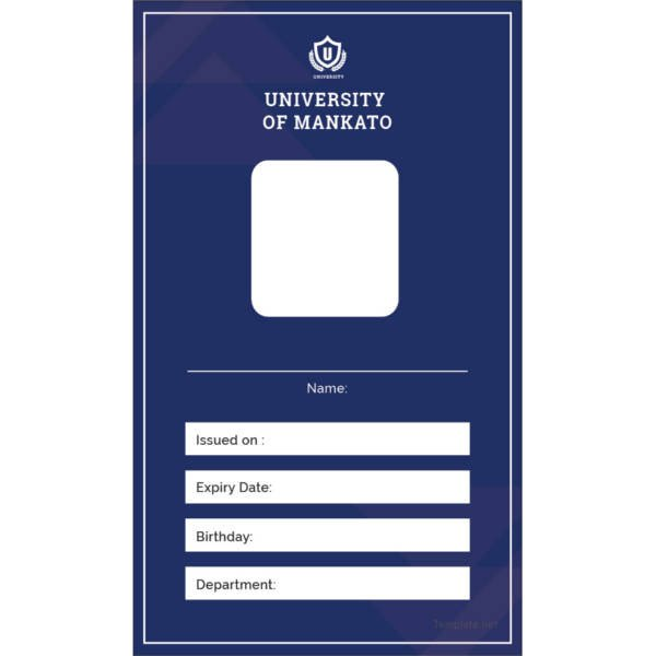 Free Id Badge Template 17 Id Card Templates Free Sample Example format