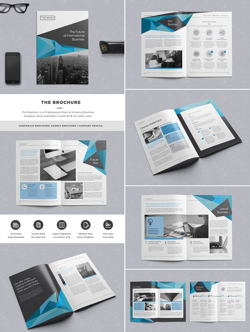 Free Indesign Flyer Templates 20 Best Indesign Brochure Templates for Creative