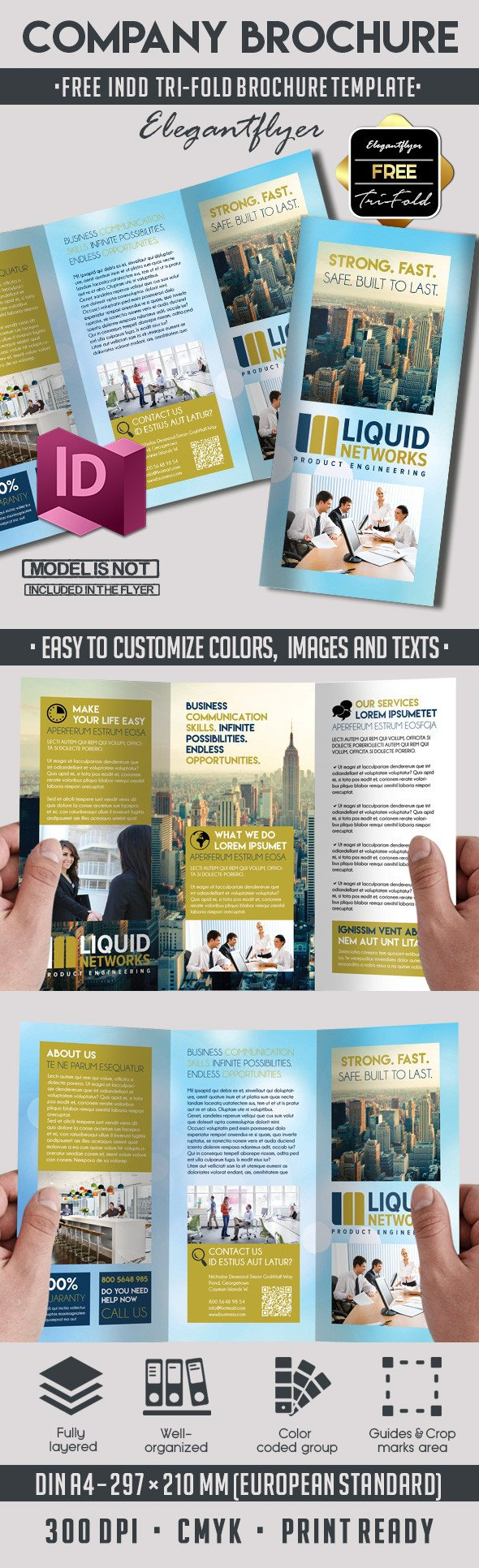 Free Indesign Flyer Templates 5 Powerful Free Adobe Indesign Brochures Templates – by