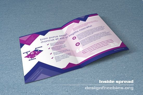 Free Indesign Flyer Templates Free Bifold Booklet Flyer Brochure Indesign Template No 1