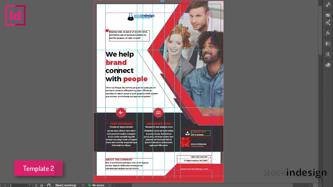 Free Indesign Flyer Templates Free Indesign Bundle 10 Corporate Flyer Templates
