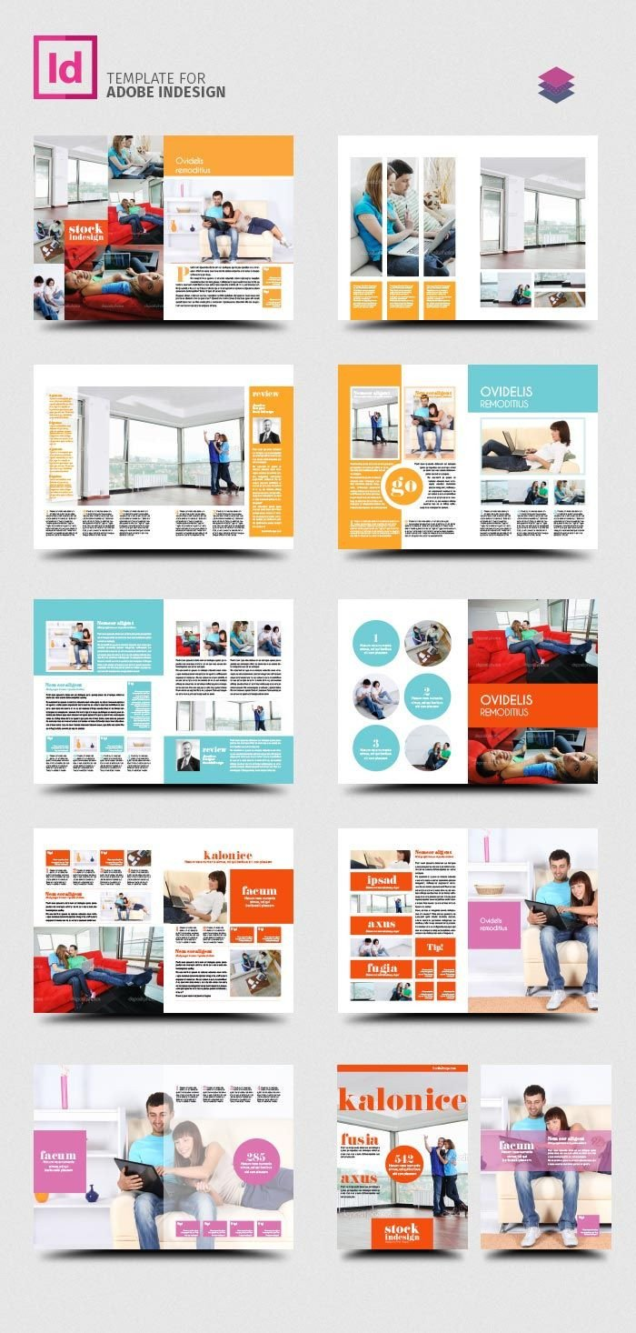Free Indesign Flyer Templates Free Indesign Pro Magazine Template Kalonice