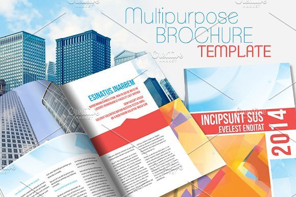 Free Indesign Flyer Templates Indesign Brochure Template V2 Brochure Templates