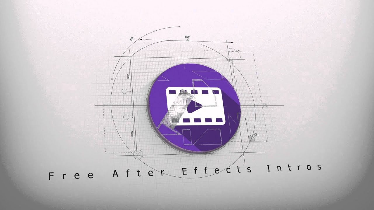 Free Intro Templates after Effects Free Architect Logo Reveal Intro 3