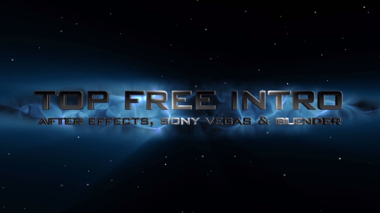 Free Intro Templates after Effects Intro Template No Plugins after Effects Cs6 2016 Free