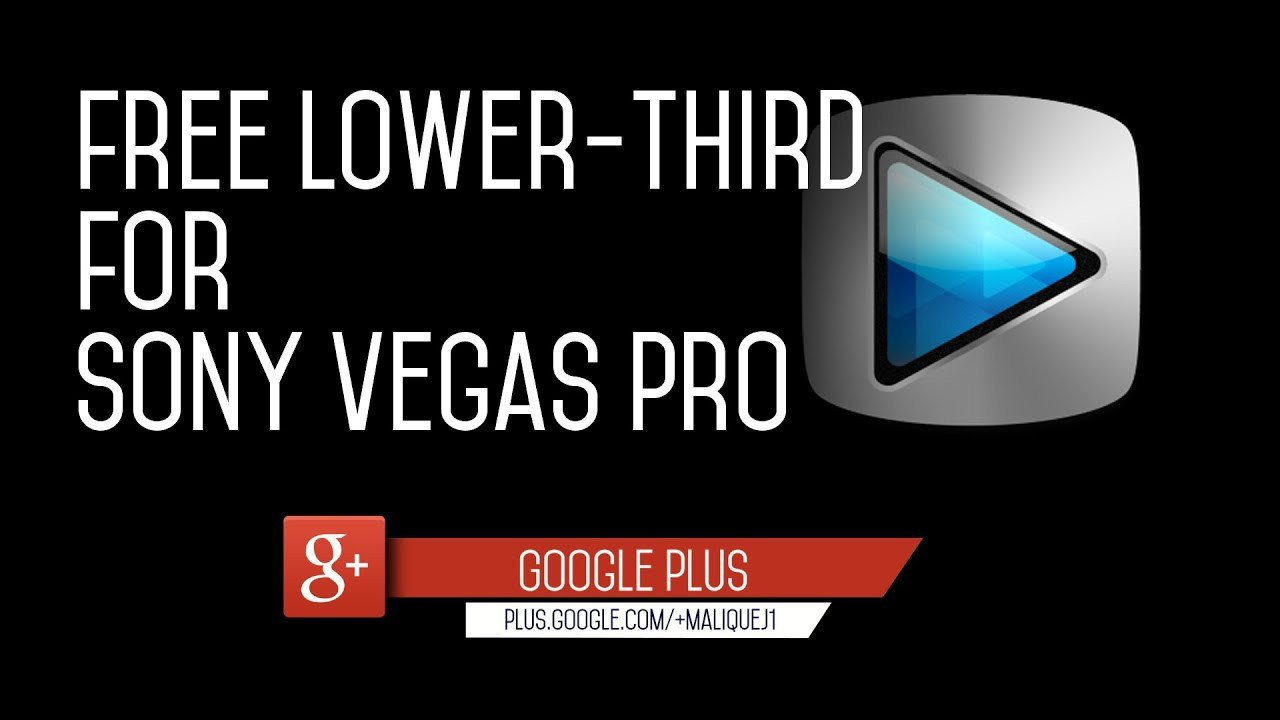 Free Lower Thirds Templates Free Flat Lower Third Template for sony Vegas Pro
