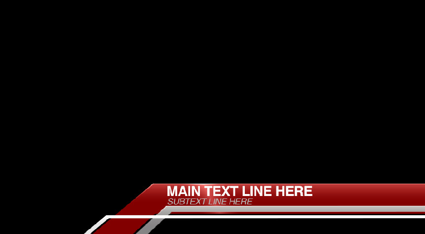 """Corner Angles"" Free After Effects Lower Third Template"