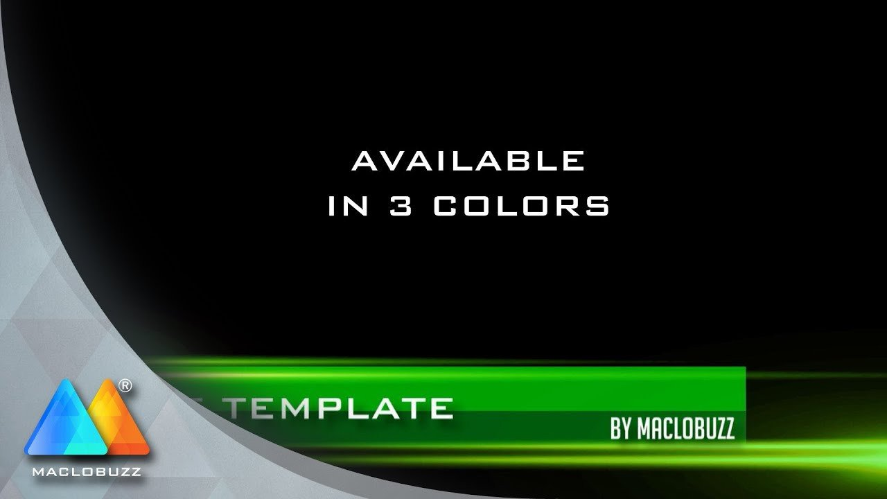 Free Lower Thirds Templates Stripes Lower Third Free Template sony Vegas Pro 11