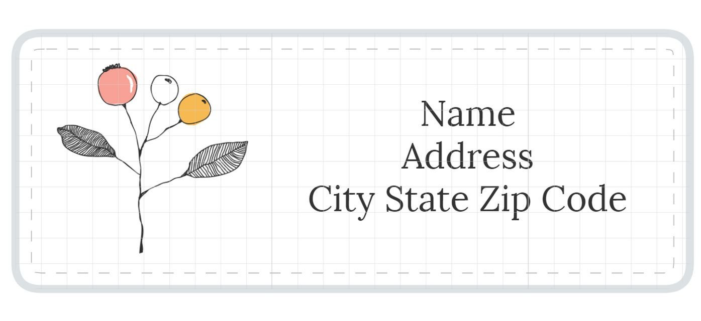Free Mail Label Template 1 789 Address Label Templates