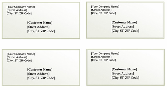 Free Mail Label Template Free Printable Shipping Label Templates Word Templates