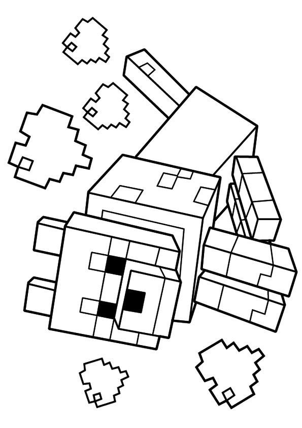 Free Minecraft Coloring Pages 24 Awesome Printable Minecraft Coloring Pages for toddlers