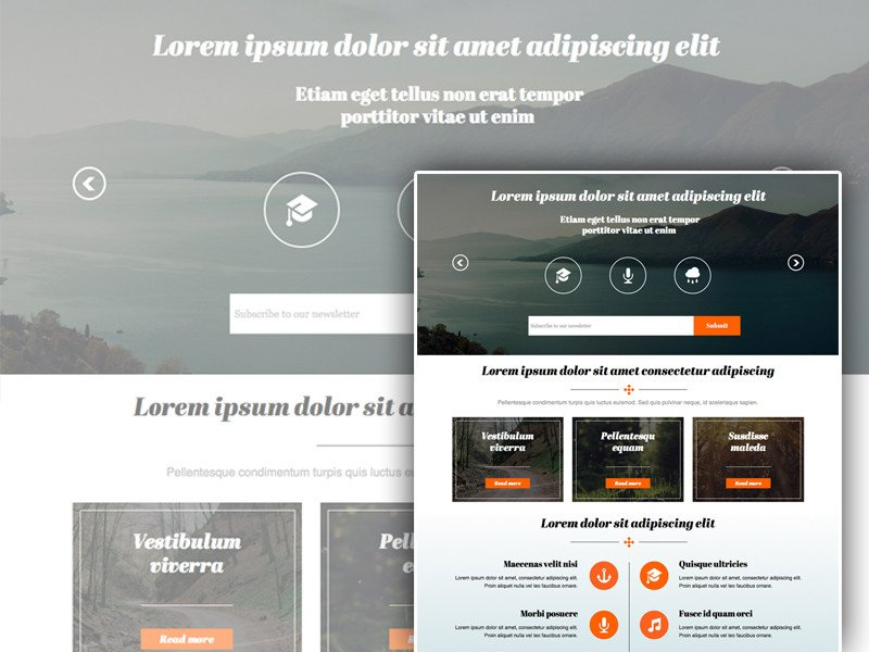 Free Muse Website Templates 25 Free Muse Templates – Creative Website themes and