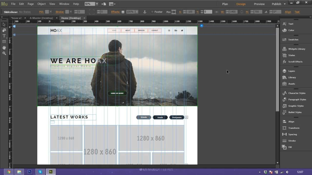 Free Muse Website Templates How to Use and Customize Adobe Muse Template Hoax