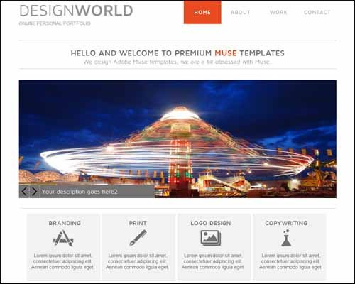 Free Muse Website Templates Latest Premium and Free Adobe Muse Templates thedesignblitz