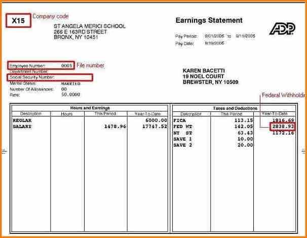 Free Pay Stub Template Excel 6 Free Pay Stub Template Excel