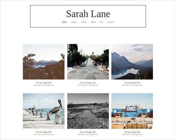 Free Photography Website Templates 38 Free & Premium Graphy Website themes & Templates