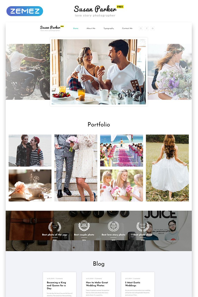Free Photography Website Templates top 10 Free Graphy Website Bootstrap Template Of All Time