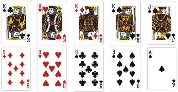 Free Playing Card Template Playing Card Vector Template