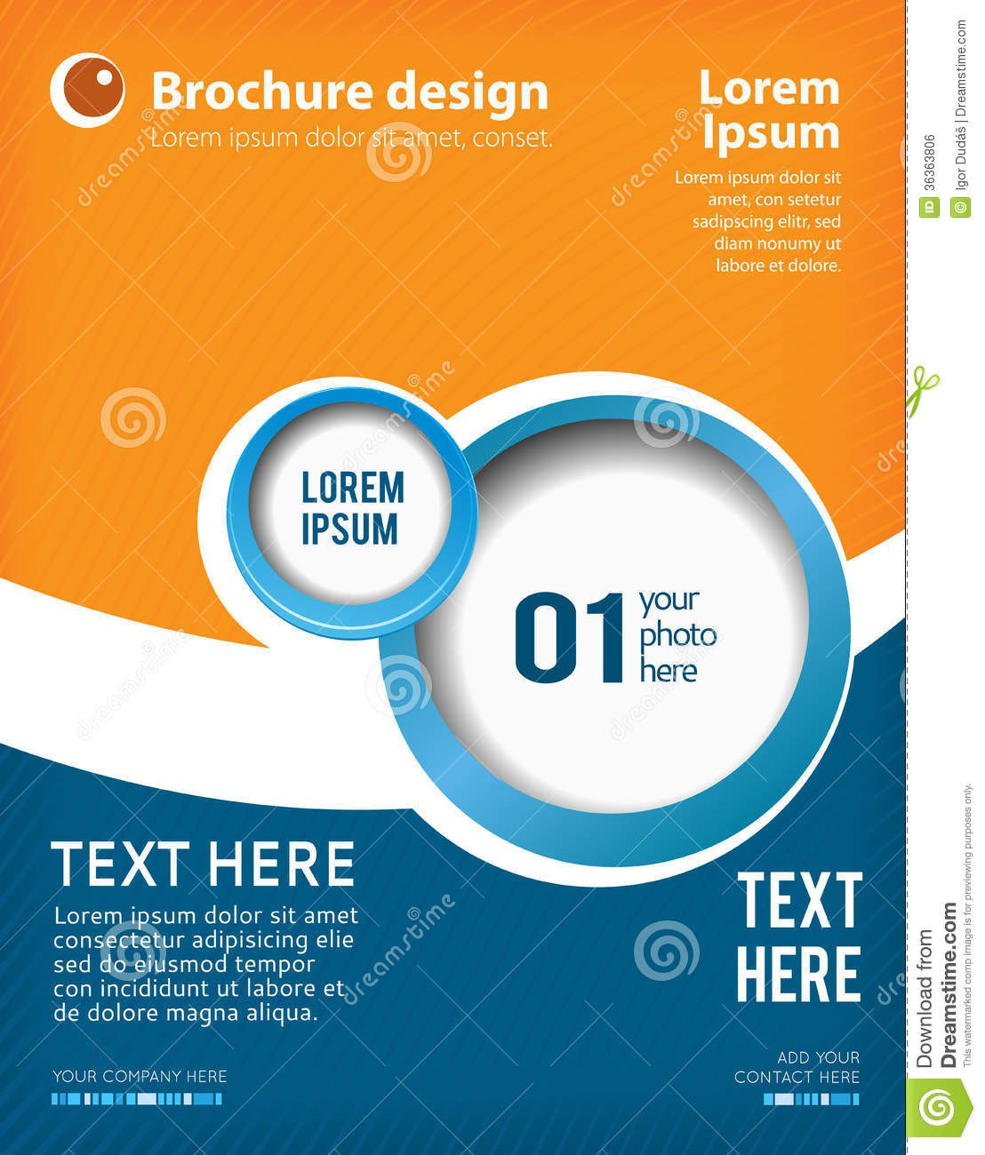 Free Poster Design Templates Design Layout Template Stock Illustration Illustration Of