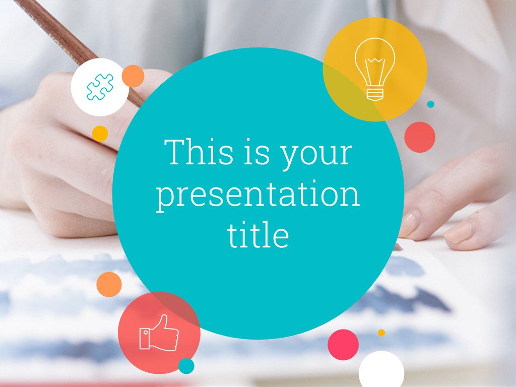Free Power Point Templates Free Playful Powerpoint Template or Google Slides theme