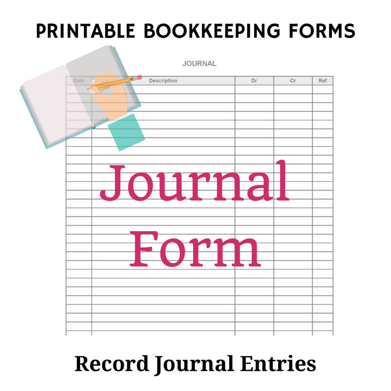 Free Printable Accounting forms Free Bookkeeping forms and Accounting Templates