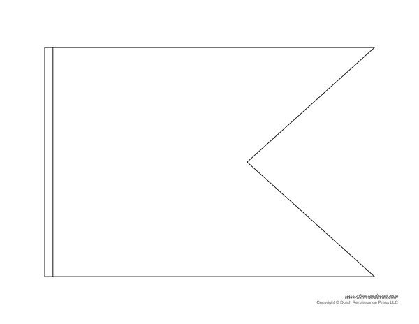 Free Printable Banner Templates Pennant Banner Template
