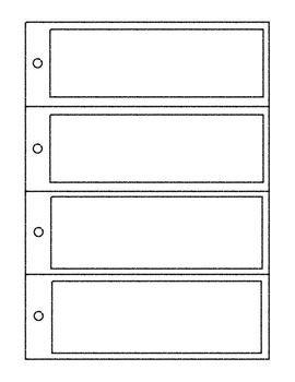 Free Printable Bookmark Templates Bookmark Templates Editable Powerpoint Printables Reading