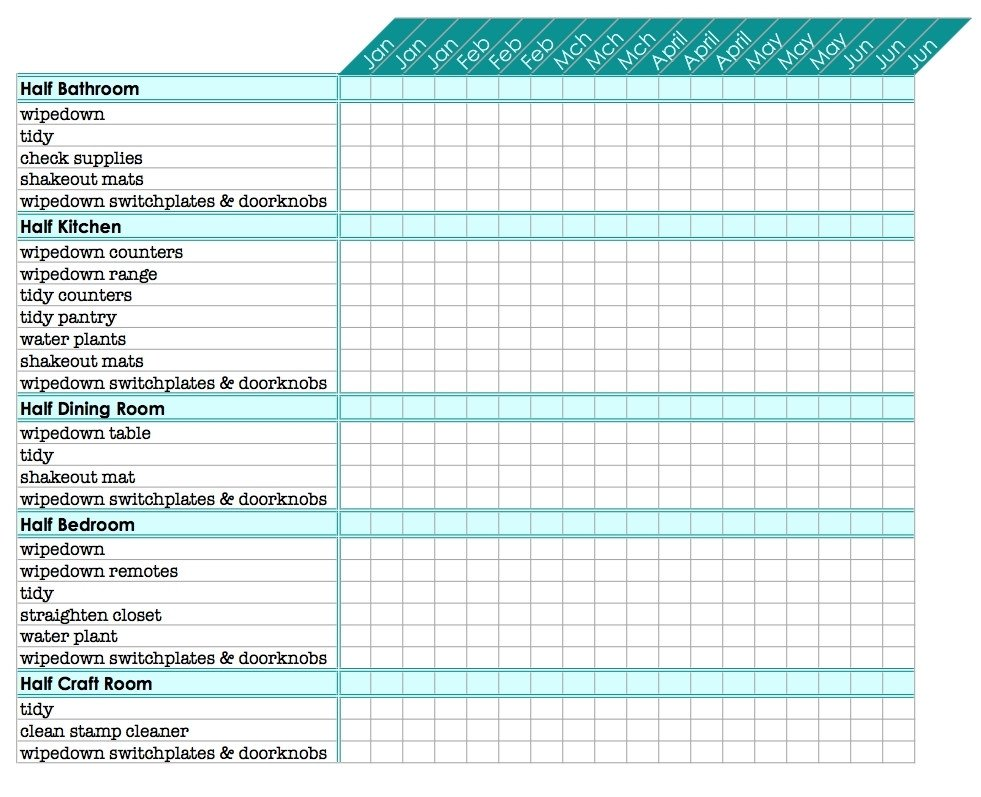 Free Printable Chore Chart Templates Bravica Sample Template Collections