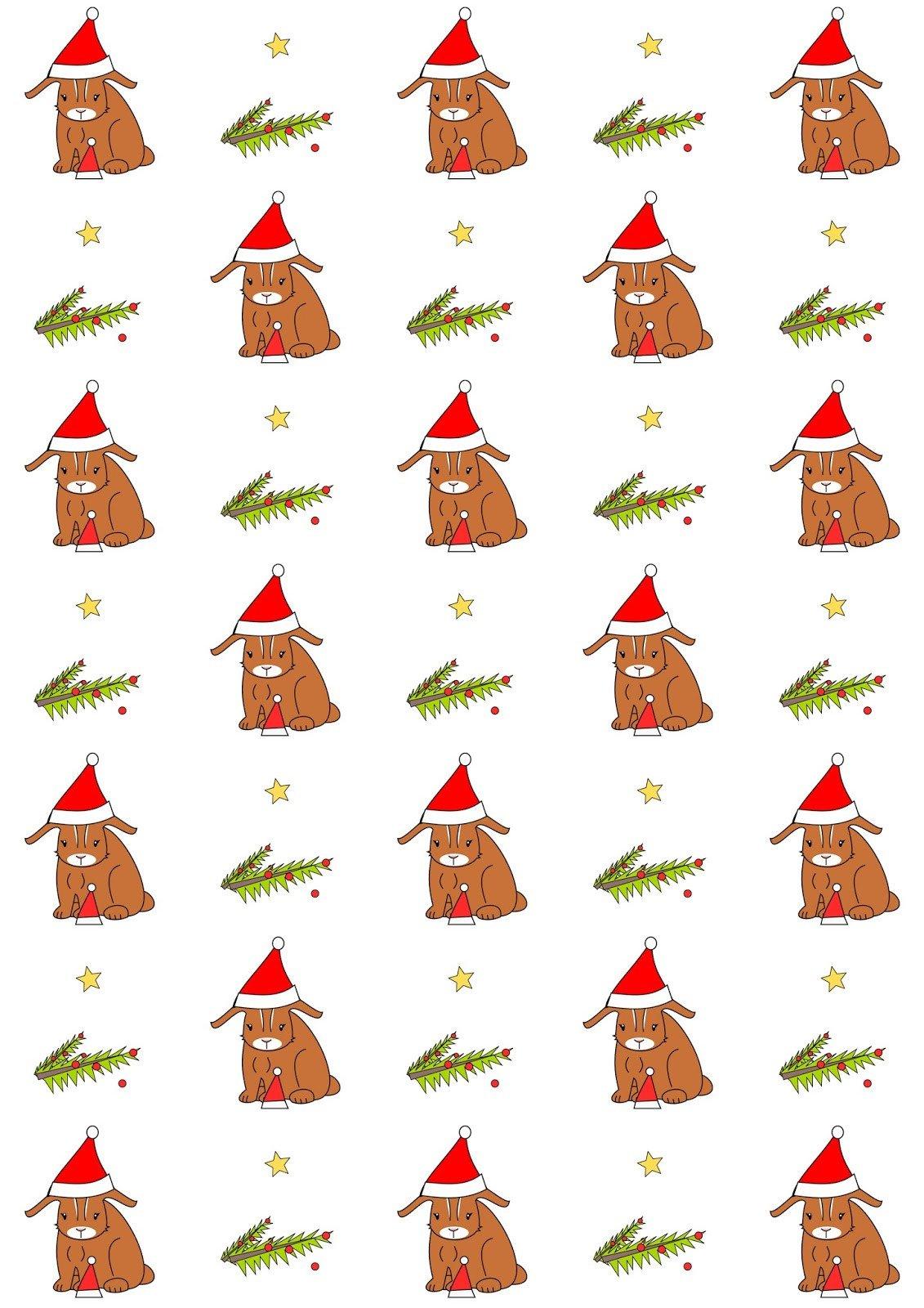 Free digital Holiday scrapbooking paper Weihnachtspapier
