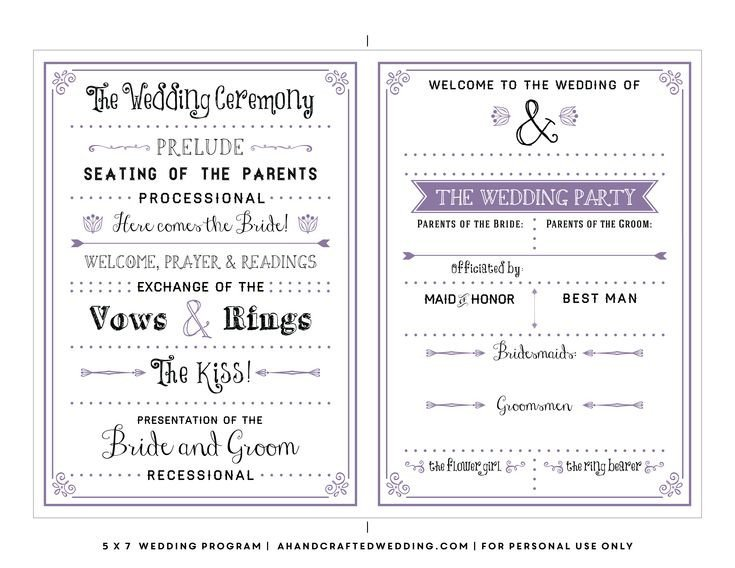 Free Printable Church Program Templates Best 25 Wedding Program Templates Ideas On Pinterest
