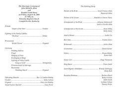 Free Printable Church Program Templates Church Bulletin Templates Mountain with God All Things