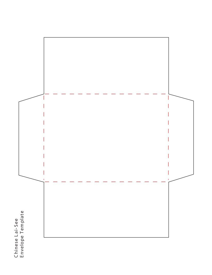 Free Printable Envelope Templates 40 Free Envelope Templates Word Pdf Template Lab