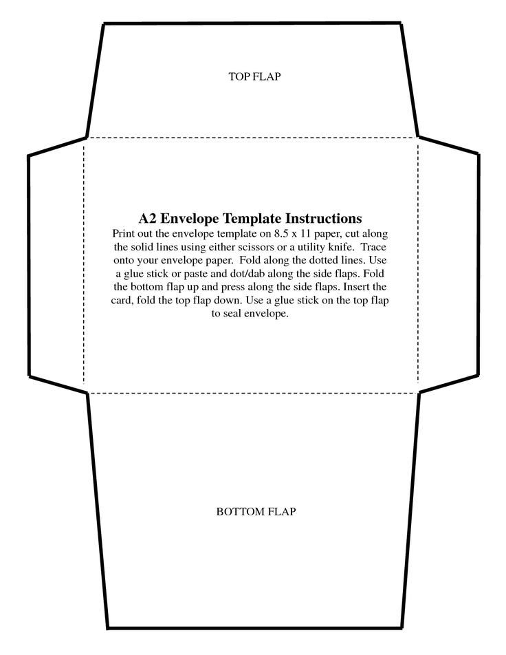 Free Printable Envelope Templates 5x7 Envelope Templates Ekariouq Paper Goods