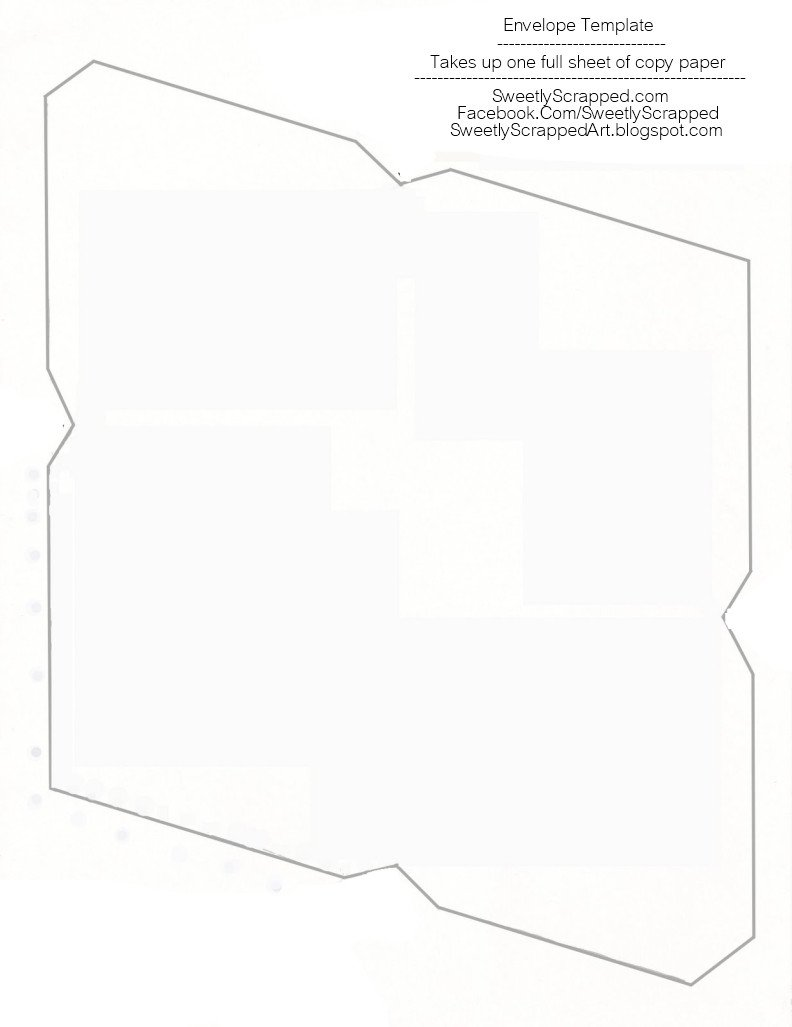 Free Printable Envelope Templates Sweetly Scrapped Free Printable Envelopes