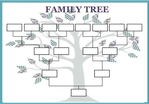 Free Printable Family Tree Template Family Tree Template 29 Download Free Documents In Pdf