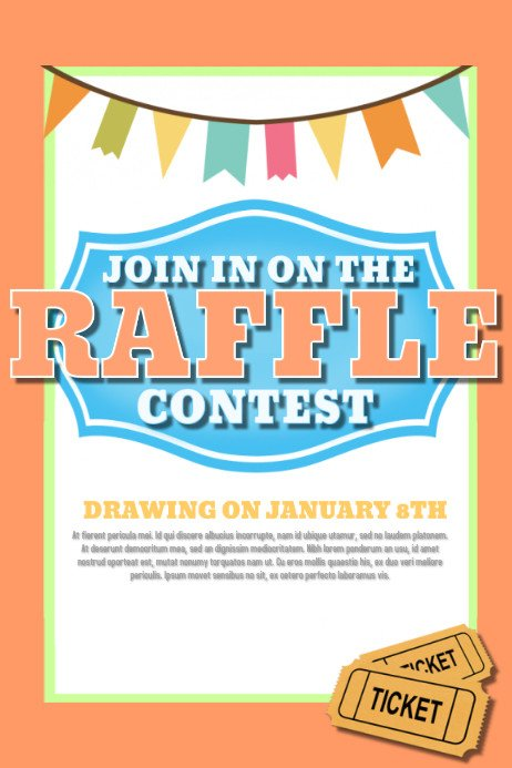 Free Printable Fundraiser Flyer Templates Design A Winning Raffle Flyer